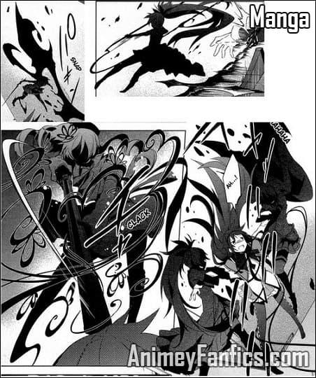 Noche de walpurgis en el manga